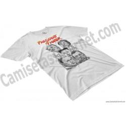 Camiseta President Fighter V1.0 Chico color blanco perspectiva