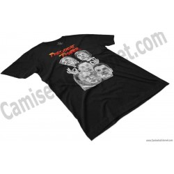 Camiseta President Fighter V2.0 Chico color negro perspectiva