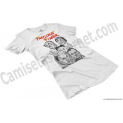 Camiseta President Fighter V1.0 Chica color blanco perspectiva