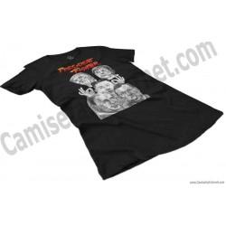 Camiseta President Fighter V1.0 Chica color negro perspectiva