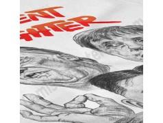 Camiseta President Fighter V2.0 Chica color blanco gran detalle