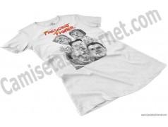 Camiseta President Fighter V2.0 Chica color blanco perspectiva