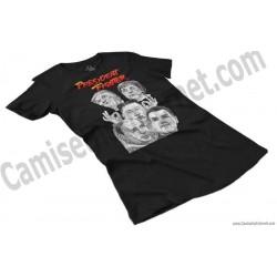 Camiseta President Fighter V2.0 Chica color negro perspectiva