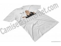 Camiseta Ylenia Tiki Tiki Miau Miau Chico color blanco perspectiva