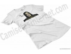 Camiseta Ayuwoki Chica color blanco perspectiva