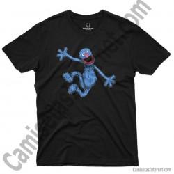 Camiseta Coco chico color negro
