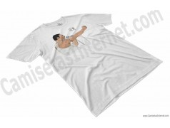 Camiseta EO!!! Chico color blanco perspectiva