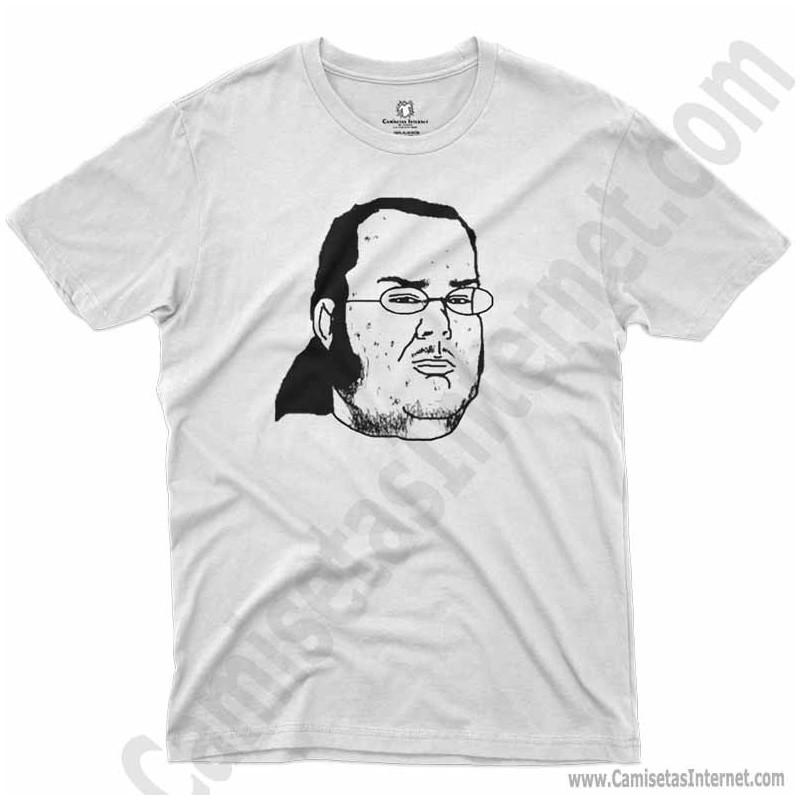 Camiseta meme Friki Chico color blanco