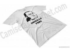 Camiseta meme Friki - Orgullo Friki Chico color blanco perspectiva