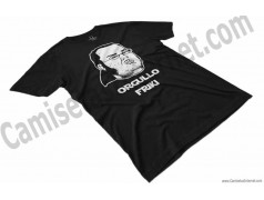 Camiseta meme Friki - Orgullo Friki Chico color negro perspectiva