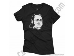 Camiseta meme Friki Chica color negro