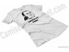 Camiseta meme Friki - Orgullo Friki Chica color blanco perspectiva