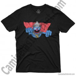 Camiseta Coco volando chico color negro