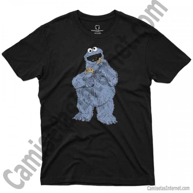 Camiseta Triki chico color negro