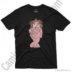 Camiseta Espinete chico color negro