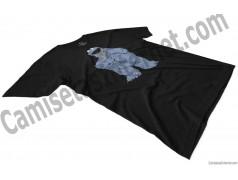 Camiseta Triki chico color negro perspectiva