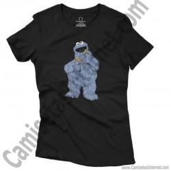Camiseta Triki chica color negro